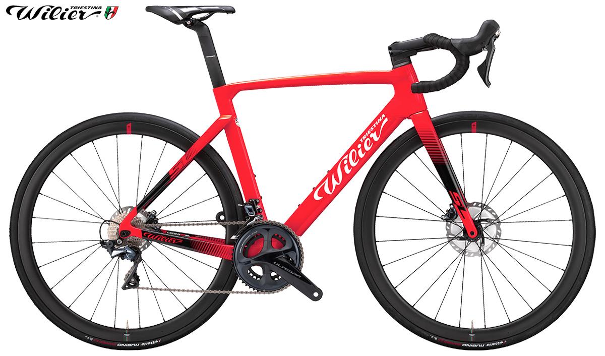Versione rossa della nuova bicicletta da strada Wilier Triestina Cento10 SL 2020