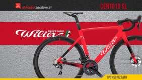 Nuova bici da strada 2021 Wilier Triestina Cento10 SL