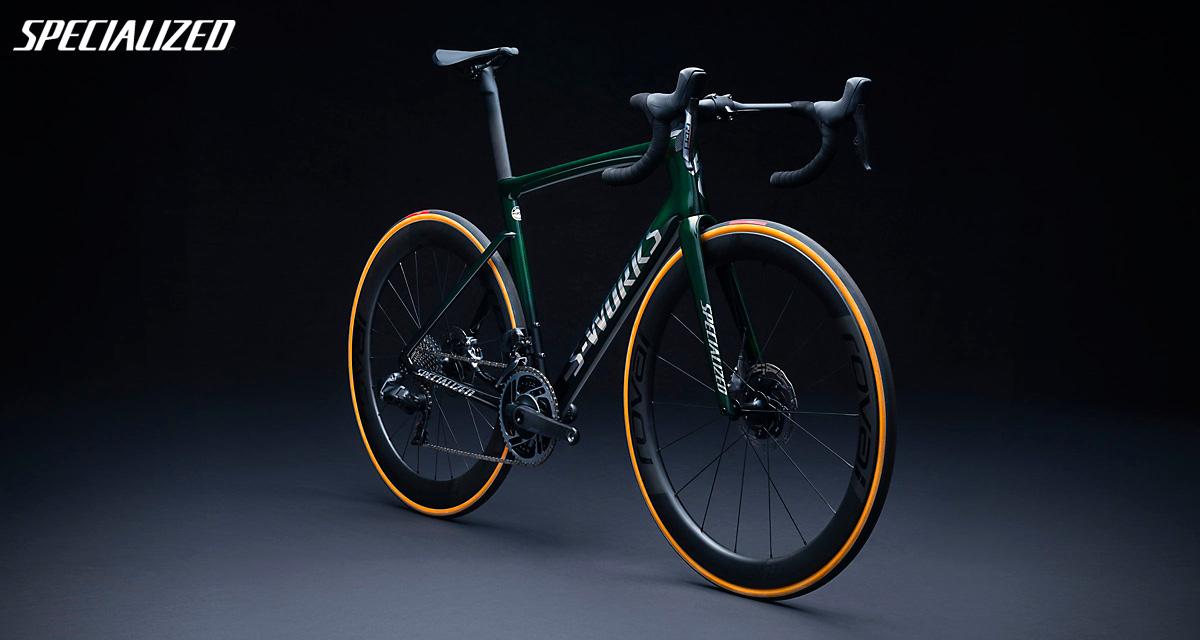 La nuova bici da corsa Specialized S-Works Tarmac SRAM Red ETap AXS 2021