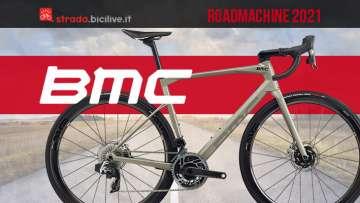 La nuova gamma 2021 di bici da strada BMC Roadmachine