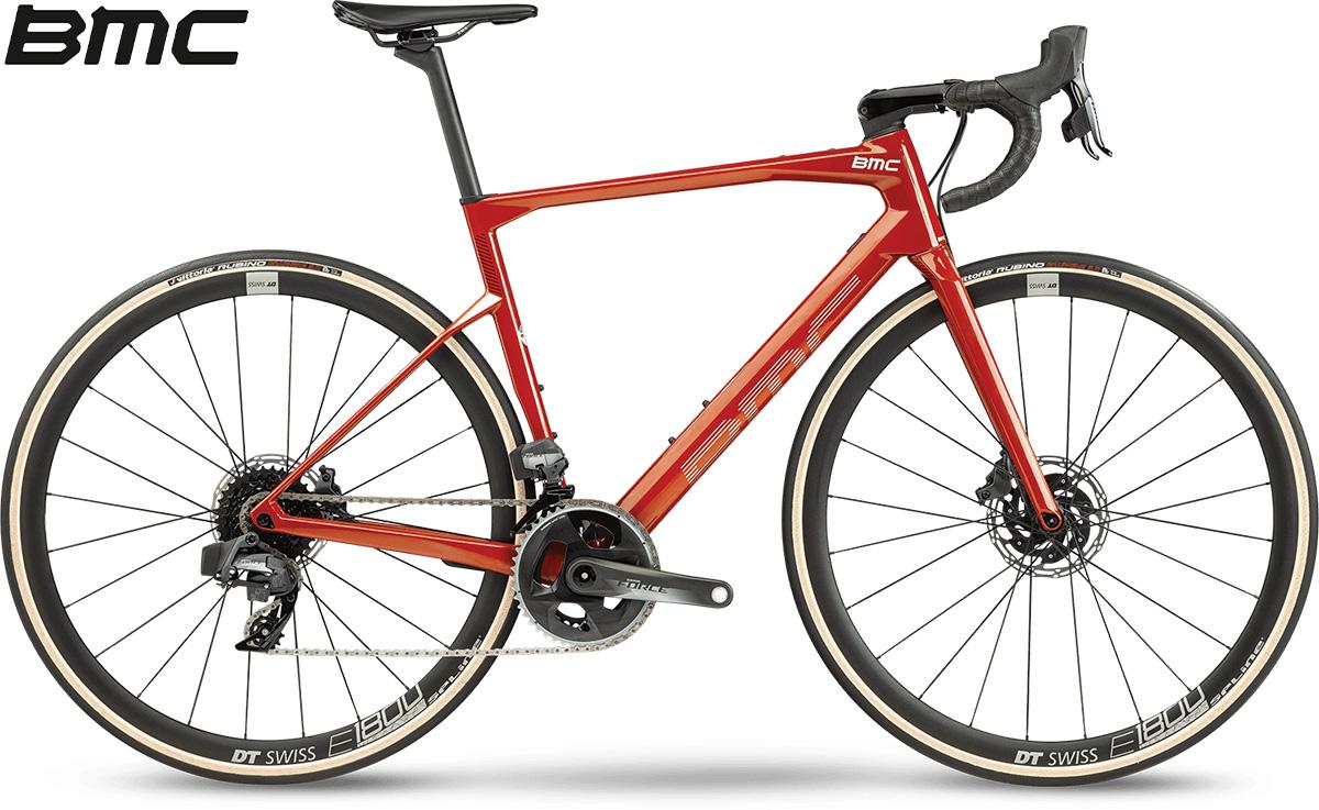 La nuova bici da strada 2021 BMC Roadmachine One con cambio SRAM Force eTap AXS