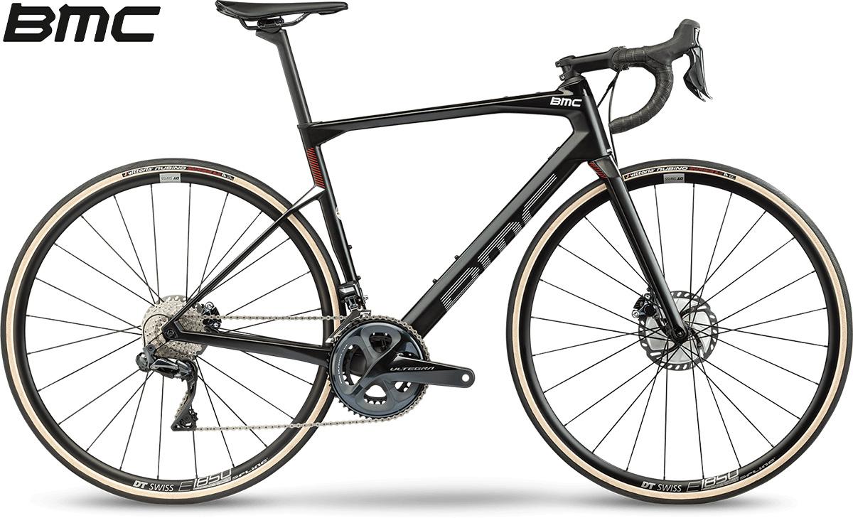 La nuova bici da strada 2021 BMC Roadmachine Two con cambio Shimano Ultegra Di2