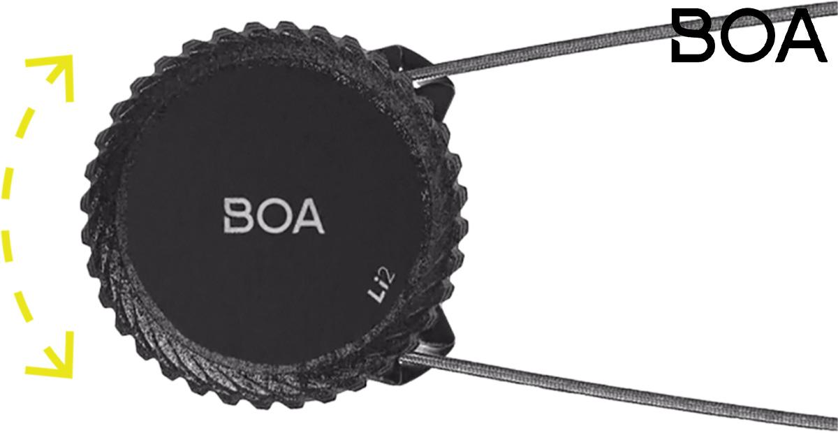 La nuova piattaforma per la chiusura rapida delle scarpe per bici BOA Li2