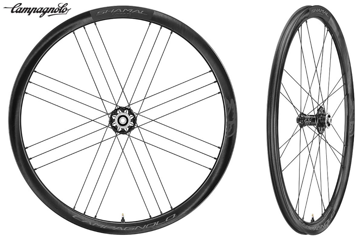 Le nuove ruote da endurance per bici da strada Shamal Carbon Disk Brake di Campagnolo