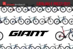Le bici da strada, corsa e gravel di Giant per il 2021: catalogo e prezzi