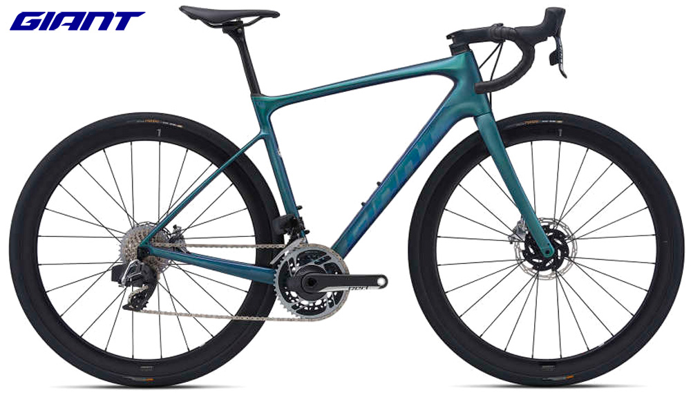 Una bici da strada Giant Defy Advanced PRO 0 anno 2021