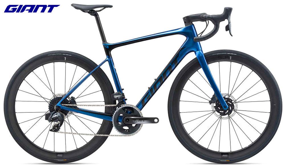 Una bicicletta Giant Defy Advanced PRO 1 2021