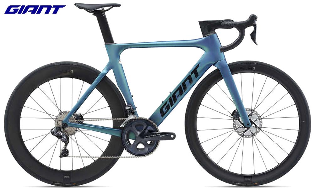 Una bicicletta da strada Giant Propel Advanced PRO 0 Disc 2021