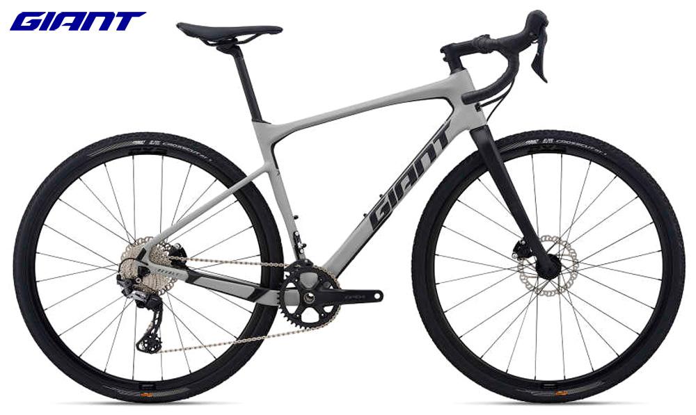 Una bicicletta per uso fuoripista Giant Revolt Advanced 1 dal catalogo 2021