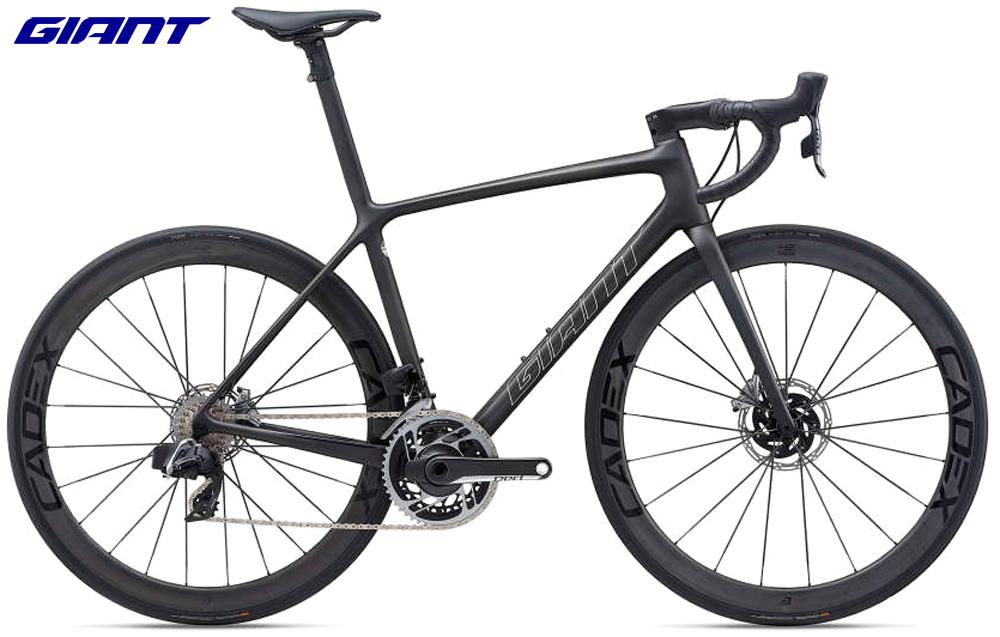 Una bici da corsa Giant TCR Advanced SL 0 Disc gamma 2021