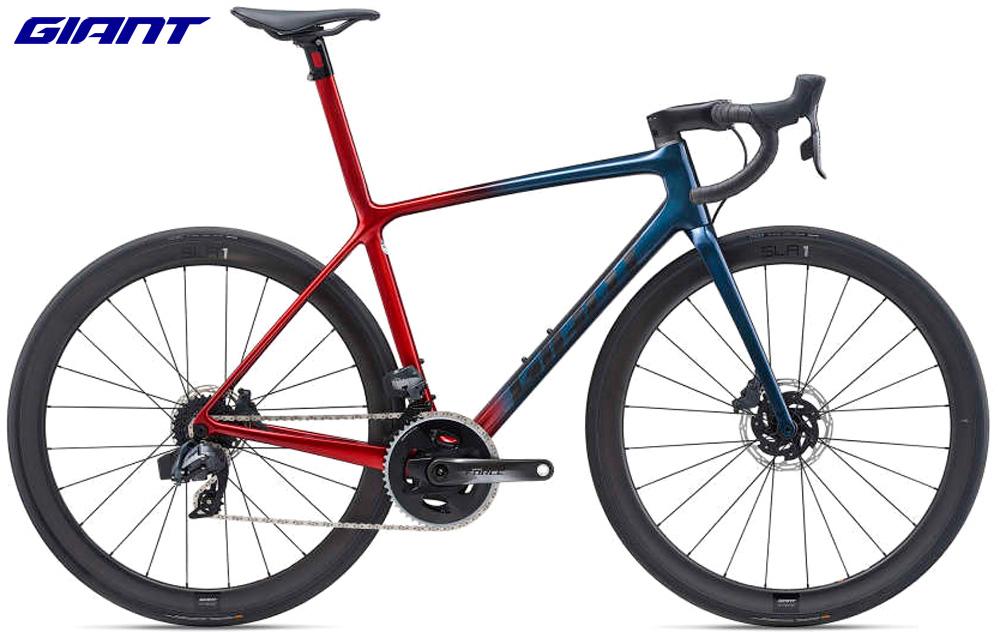 Una bici da strada Giant TCR Advanced SL 1 Disc dal catalogo 2021