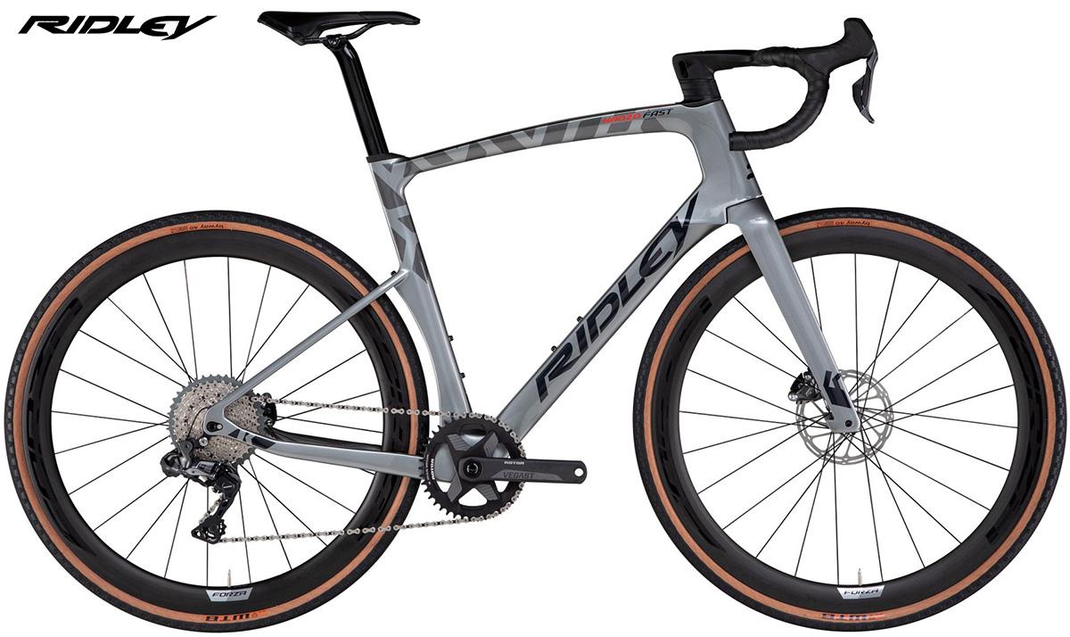 La nuova bici da gravel Ridley Kanzo Fast Classified Shifting Technology con allestimento Shimano GRX Di2