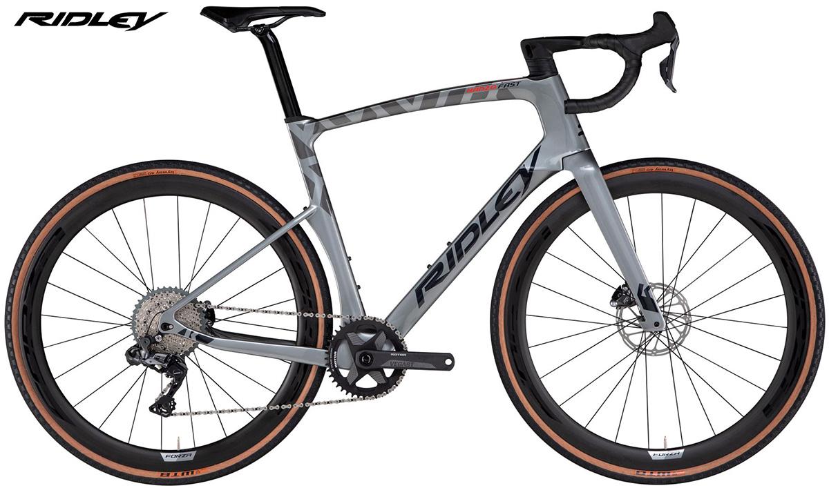 Nuova bici da gravel Ridley Kanzo Fast con allestimento GRX800