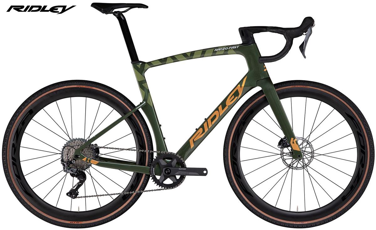 La nuova bicicletta da gravel Ridley Kanzo Fast con allestimento SRAM Rival 1