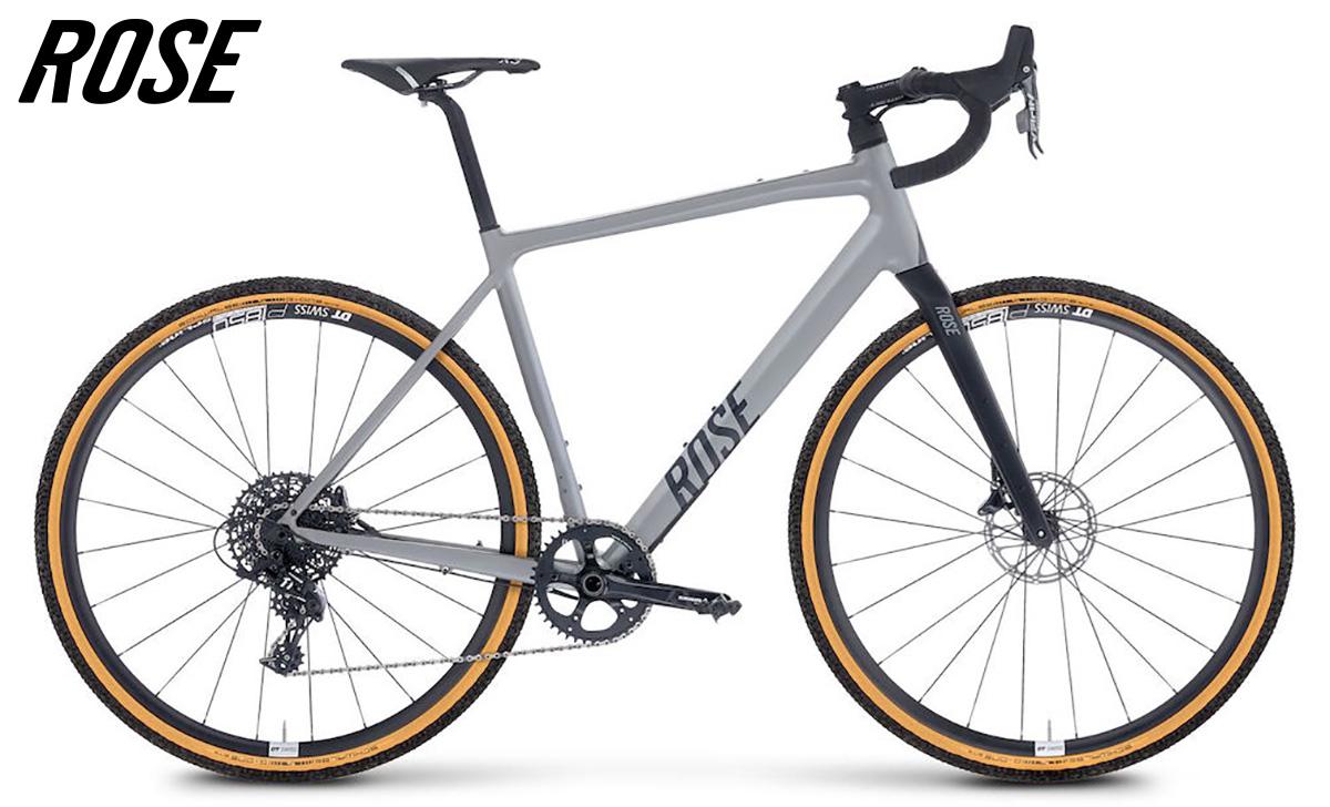 La nuova bici da gravel Rose Backroad AL con cambio SRAM Apex 1x11