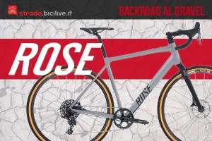 La nuova gamma di bici gravel Rose Backroad AL