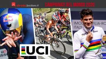I risultati dei campionati del mondo di ciclismo 2020 svolti ad Imola