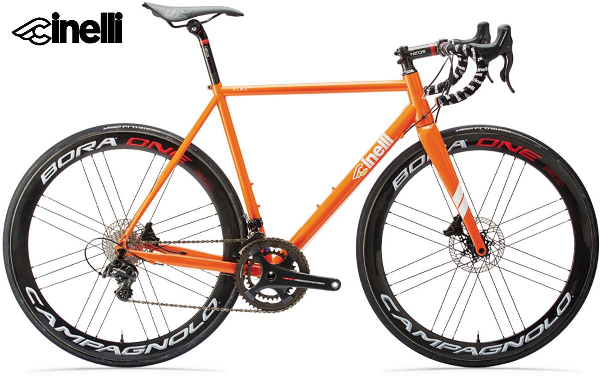 Il modello di bici da strada Cinelli Nemo Tig Disc 2021