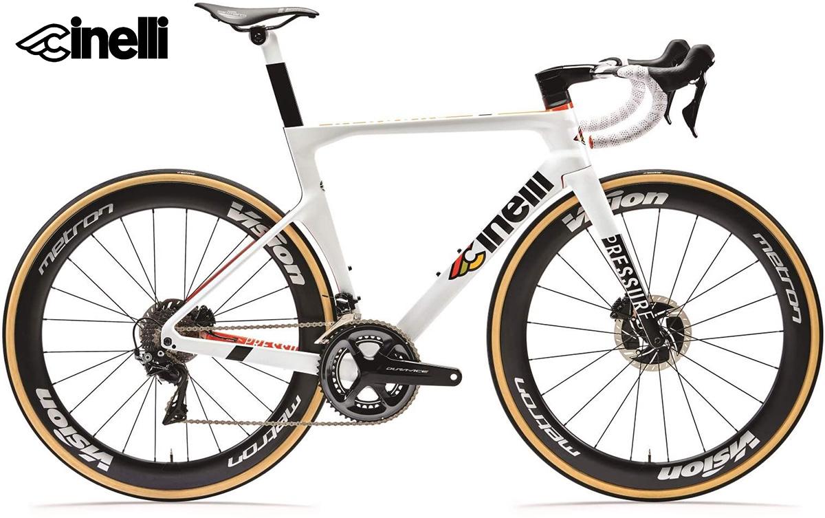 La nuova bici da strada Cinelli Pressure 2021