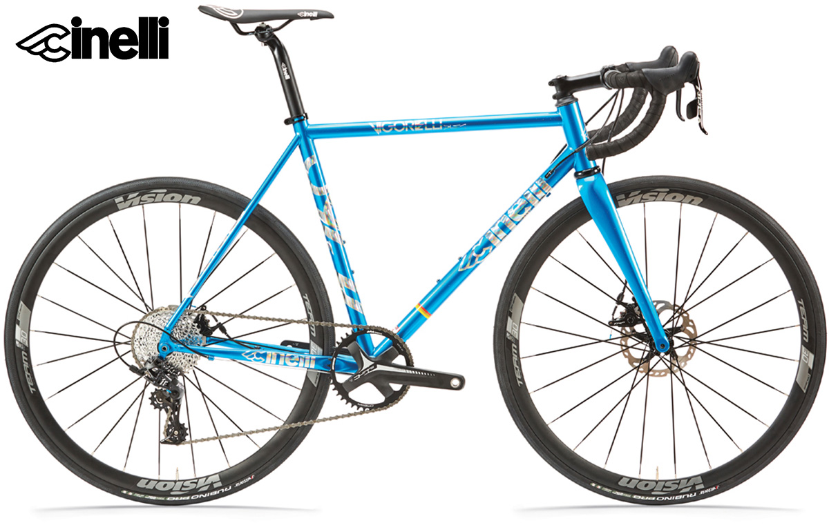 Il modello di bici da strada Cinelli Vigorelli Disc 2021