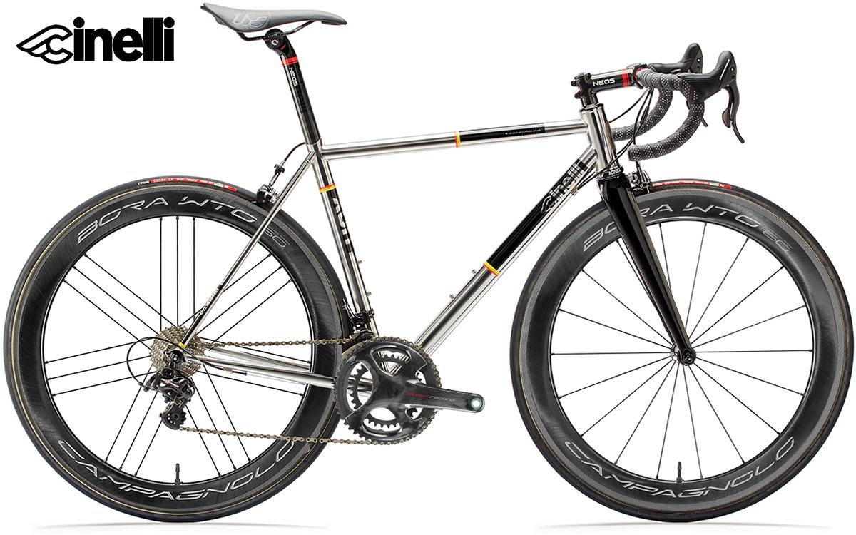 Il modello di bici da strada Cinelli XCR Sidesuper Record 2021