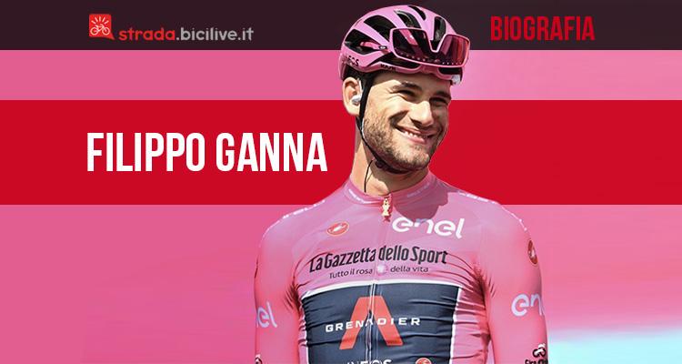 La biografia del giovane campione di ciclismo Filippo Ganna