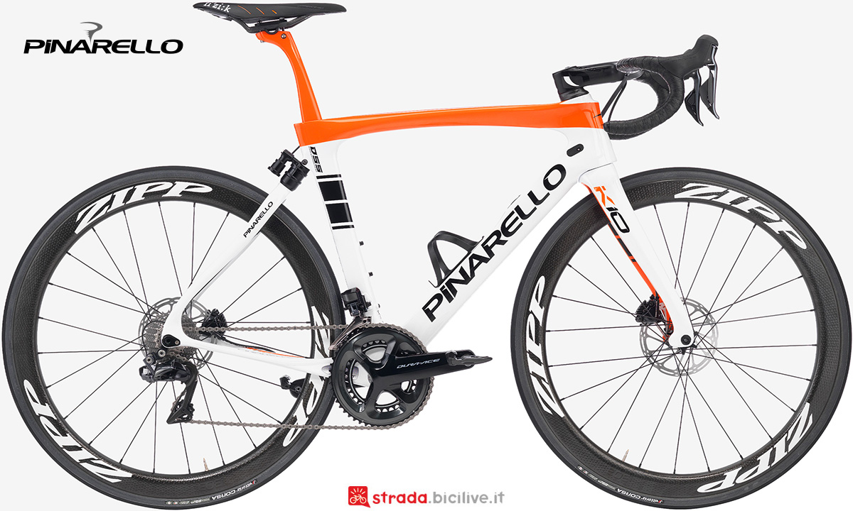 La nuova bici da corsa Pinarello Dogma K10S Disk 2021
