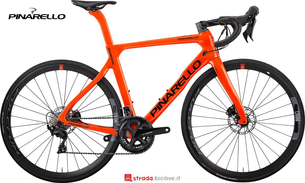 La nuova bici da strada Pinarello Paris 2021