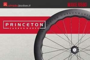 La ruota aerodinamica per bici da corsa Princeton Wake 6560