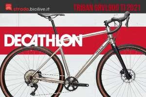 Decathlon Triban GRVL900 TI: una bici gravel in titanio