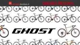 Il catalogo completo e listino prezzi dei modelli di bici da strada e gravel Ghost 2021
