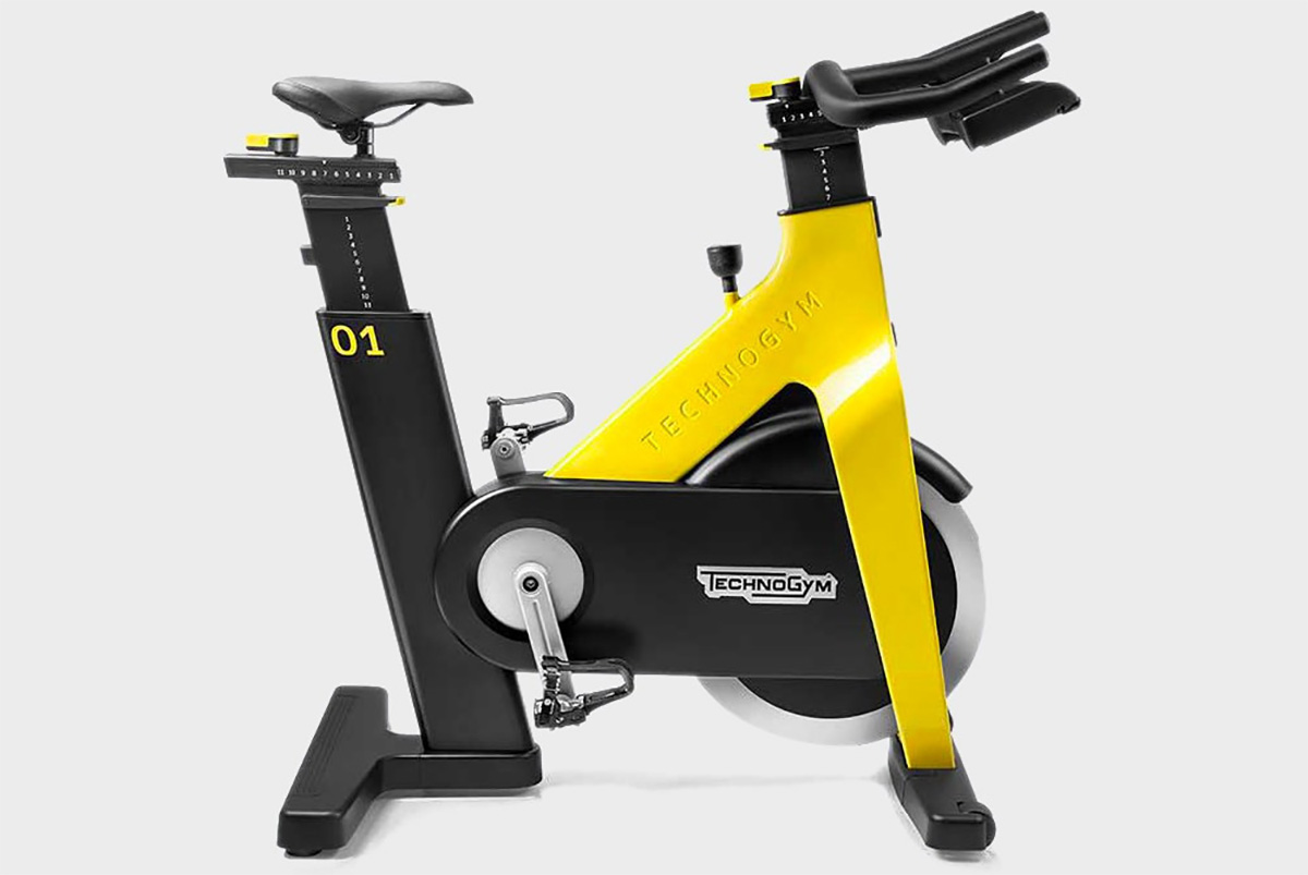 Postazione per allenamento ciclistico indoor Technogym Group Cycle Ride