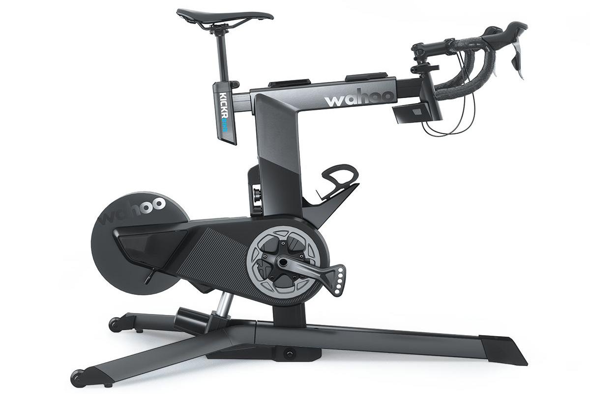 Postazione per allenamento ciclistico indoor wahoo kickr bike