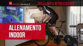 Guida ai rulli, app e attrezzature per l'allenamento ciclistico indoor