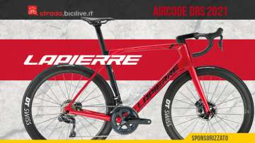 Nuova bici da corsa aero Lapierre Aircode DRS 2021