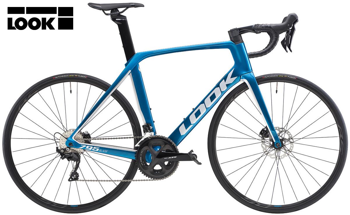 La nuova bici da corsa Look 795 Blade disc 105