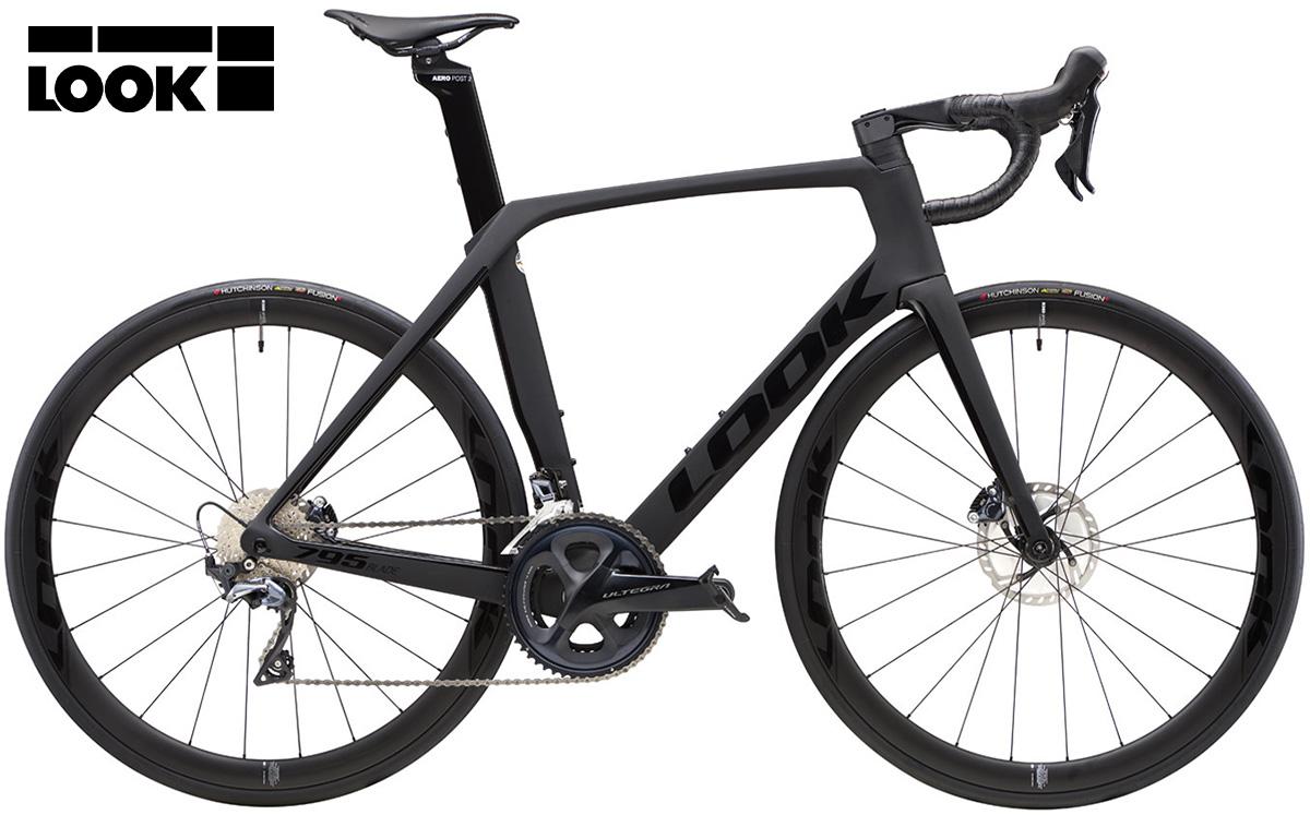 La nuova bici da corsa Look 795 Blade disc Ultegra ruote Look