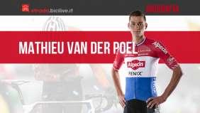 Mathieu van der Poel: storia e palmarès del ciclista professionista