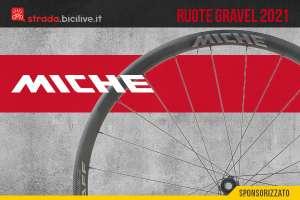 Miche ruote bici 2021: una nuova linea dedicata al gravel