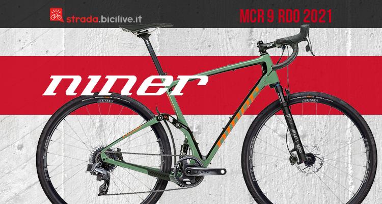 Niner MCR 9 RDO: una gravel in carbonio full-suspended versatile e innovativa