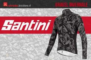 Santini Gravel abbigliamento ciclisti inverno 2021
