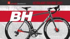 BH Ultralight EVO Disc 2021: bici da corsa con telaio in carbonio ad alto modulo