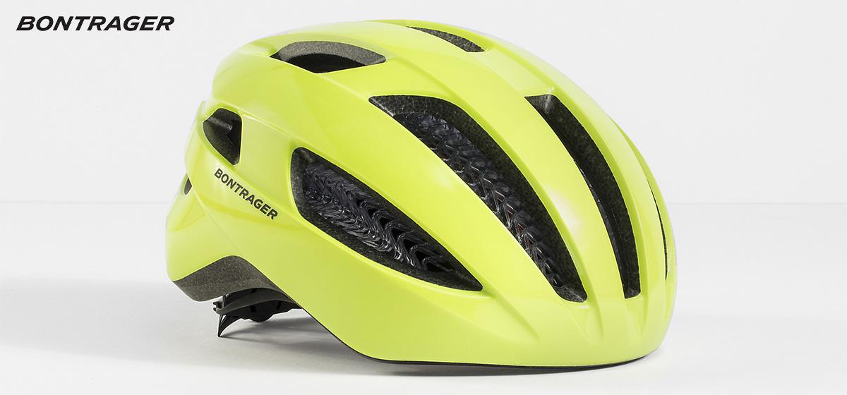 Il nuovo casco per bici Bontrager Starvos Wavecel 2021 in colorazione giallo fluo