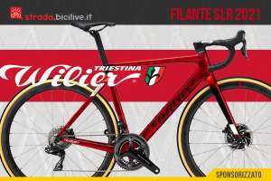 Bici da corsa aerodinamica Wilier Triestina Filante SLR 2021