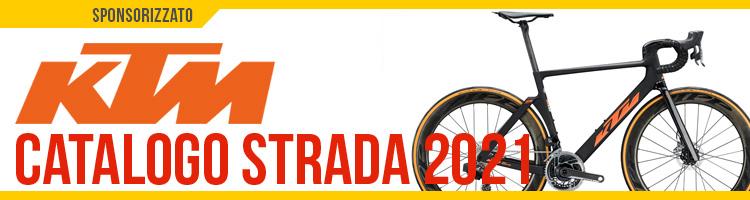 Catalogo bici da strada 2021 KTM