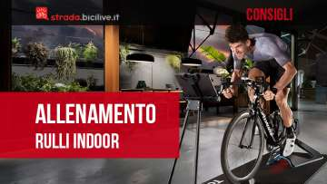 Consigli su come allenarsi con i rulli bici in casa