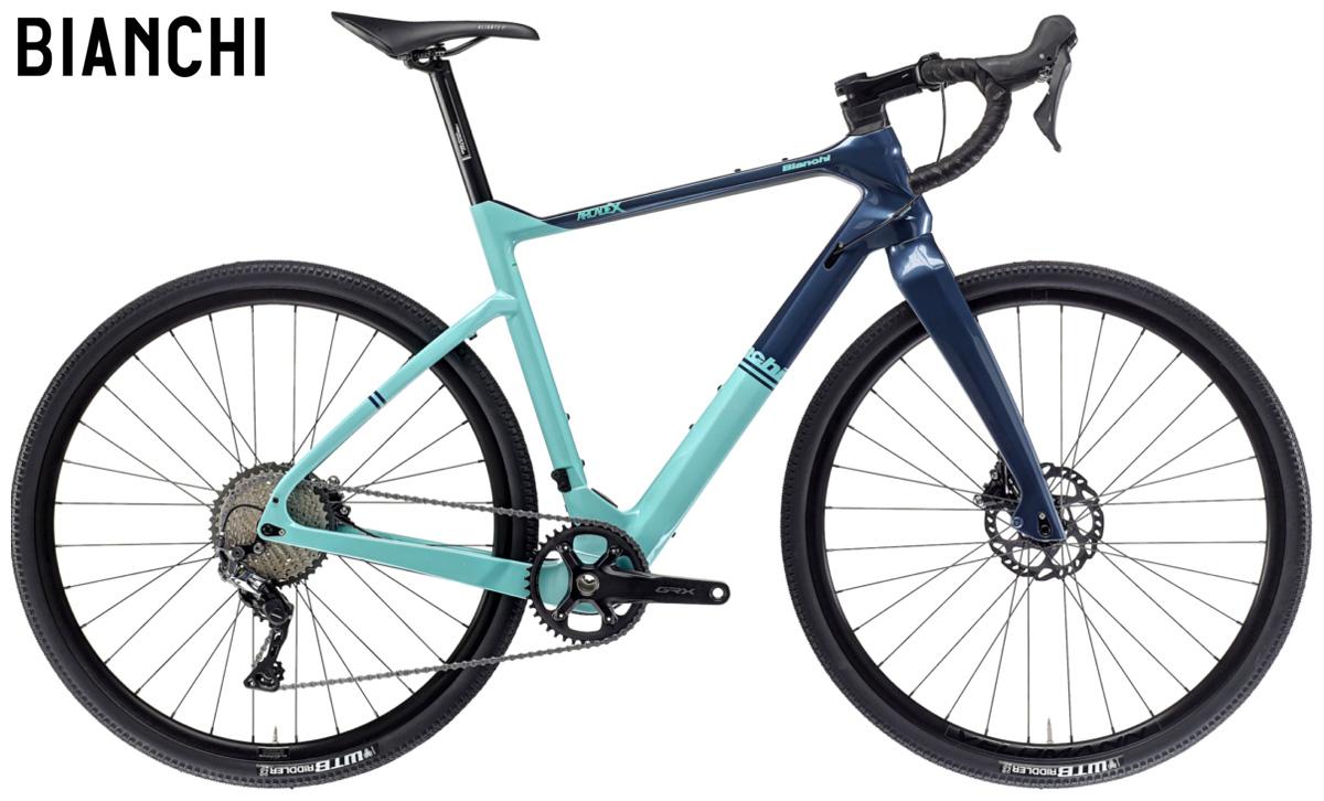 Una bicicletta gravel Bianchi Arcadex GRX 600 dal catalogo 2021