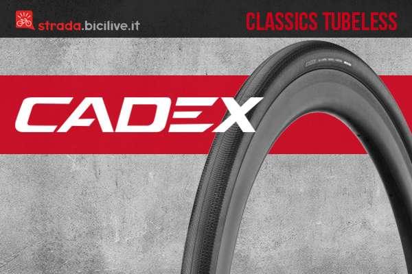 Il nuovo copertone per bici da corsa Cadex Classics Tubeless 2021