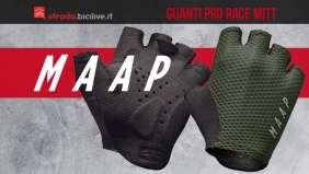 I nuovi guanti per bici Maap Pro Race Mitt in collaborazione con Elasticizzano Interface