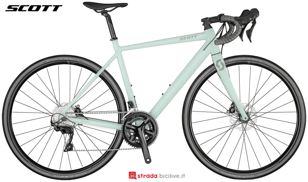 Una bicicletta da donna Scott Contessa Speedster 15 Disc 2021